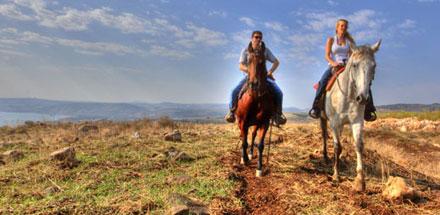 טיולי רכיבה על סוסים ולימוד רכיבה בחוות ורד הגליל